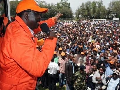 Mfuasi sugu wa Raila Odinga kutoka Zimbabwe asafiri kilomita 230 ili kumuona