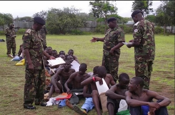 Recruit arrested for threatening KDF recruiters with terrorism