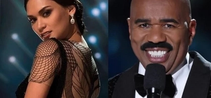 "Pia Wurtzbach thanks Steve Harvey for making her ""the most popular Miss Universe"""