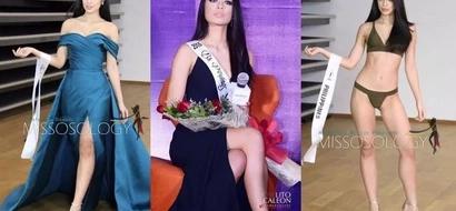 Iba talaga ang gandang Filipina! PH bet Joanna Eden turns heads during the Miss Supranational prelims