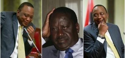 Kitendo hiki cha Uhuru huenda kikamzidishia mawazo Raila Odinga
