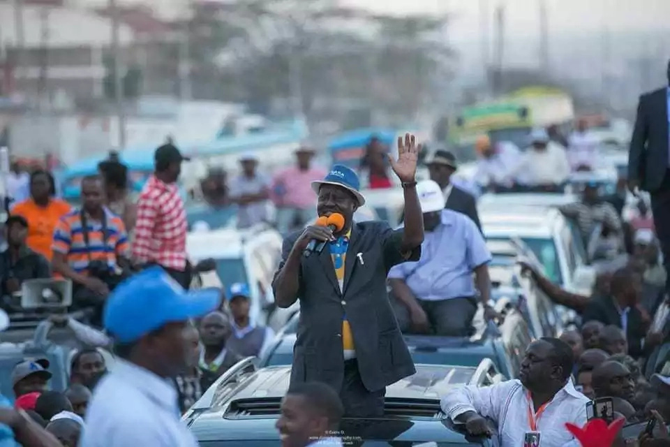 ODM has turned into a business enterprise where highest bidders get plum positions-Raila ally claims