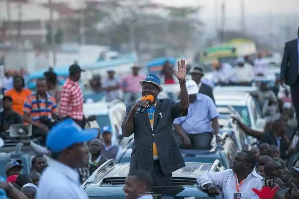 Mbunge wa Jubilee ataka Raila anyang'anywe paspoti kabla ya marudio ya uchaguzi