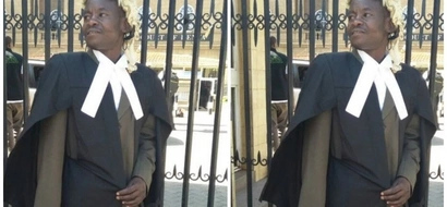 Former Chokoraa stands tall and dapper as he is admitted to the bar