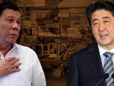 Duterte is FAMOUS in Japan, says PM Shinzo Abe