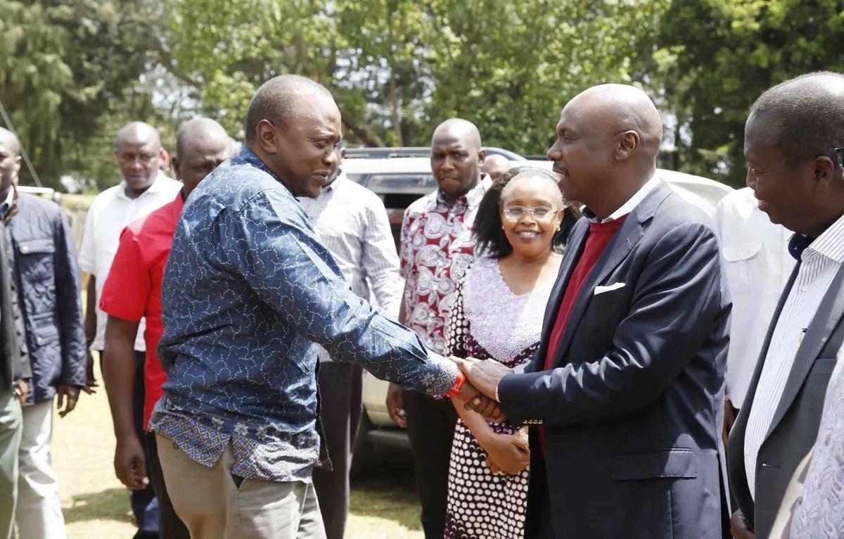 Moi amlilia Uhuru kwa msaada