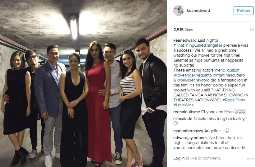 'That Thing Called Tanga' attend premiere with dates