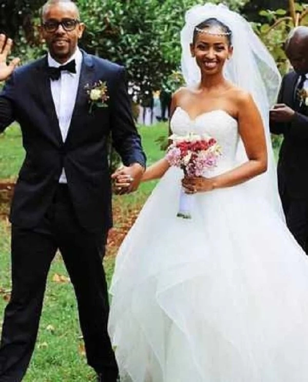Former Citizen TV actress Sarah Hassan says I DO in a lovely wedding(photos)