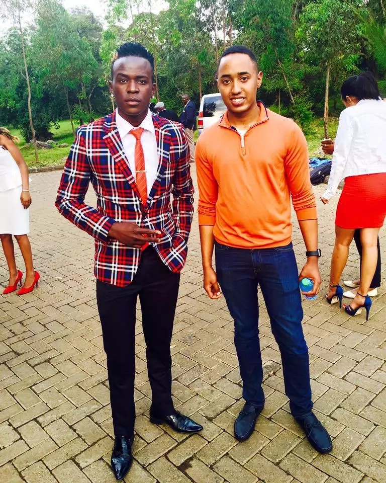 Uhuru Kenyatta's son entertains Kenyan celebrities at State House