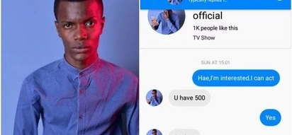 Con artist exposed for using Machachari actor Baha's name to extort unsuspecting ladies