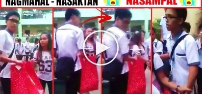 This Pinoy student got rejected & slapped by his crush during his public proposal at school! Find out the unexpected reason why she slapped him!