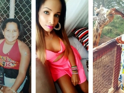 6 photos of Erick Omondi's girlfriend as a child and a grown-up
