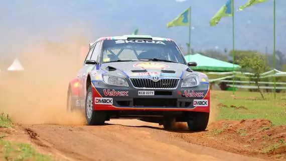 Ian Duncan was the favourite of many in Safari Rally contests