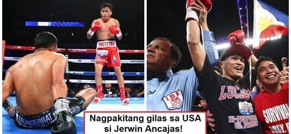 Filipino pride! Epic highlights video of Jerwin Ancajas' 10th round knockout victory for his US debut amazes netizens