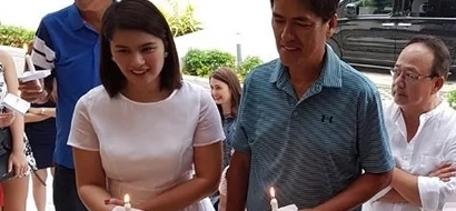 Take a look at Vic Sotto and Pauleen Luna's house blessing