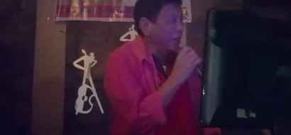 Singing Digong: watch the Incoming President sing videoke