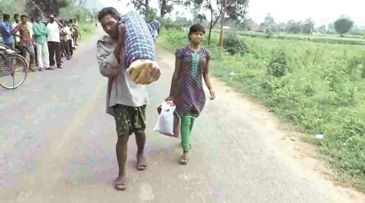 Man forced to carry dead wife for 12KM
