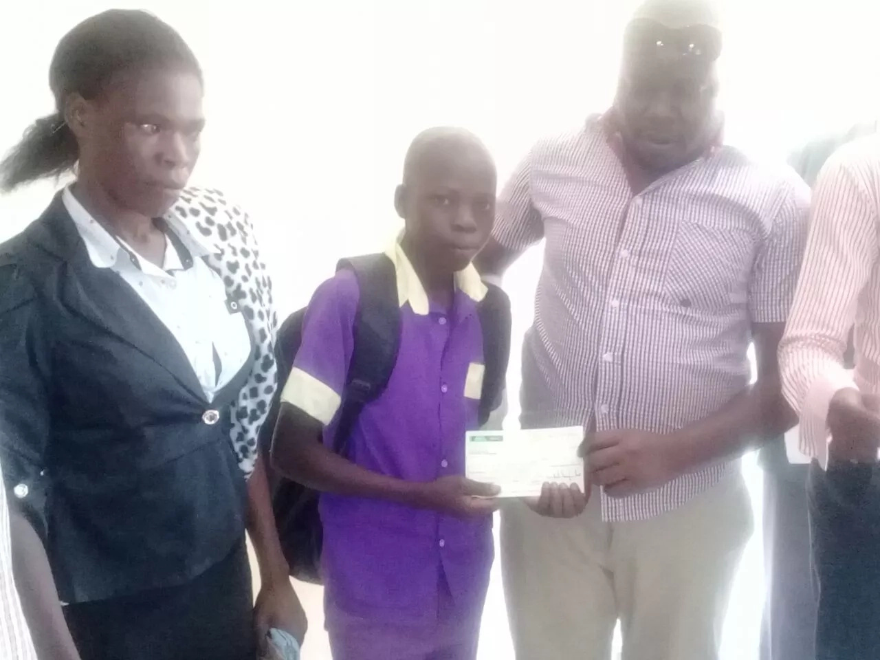 'Aliko Dangote' pays school fees for needy Bungoma students weeks after throwing bash for voters who despised him