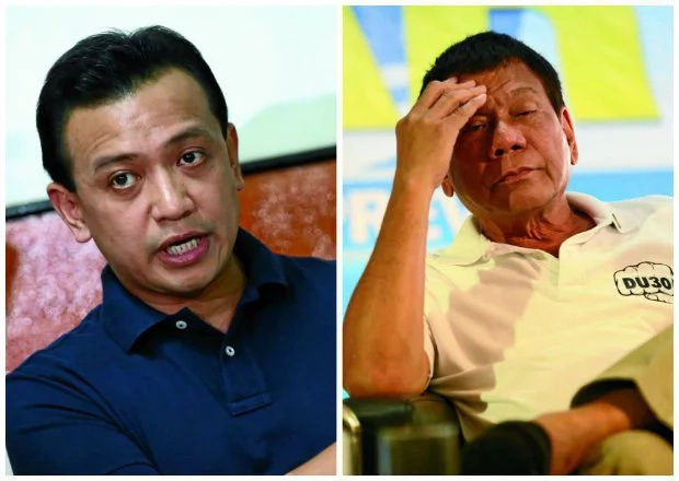 Trillanes denies coup d'etat rumors vs Duterte