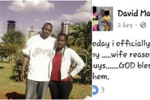 Man goes ROGUE on his wife on Facebook for sleeping around with Bodaboda men (PHOTOS)