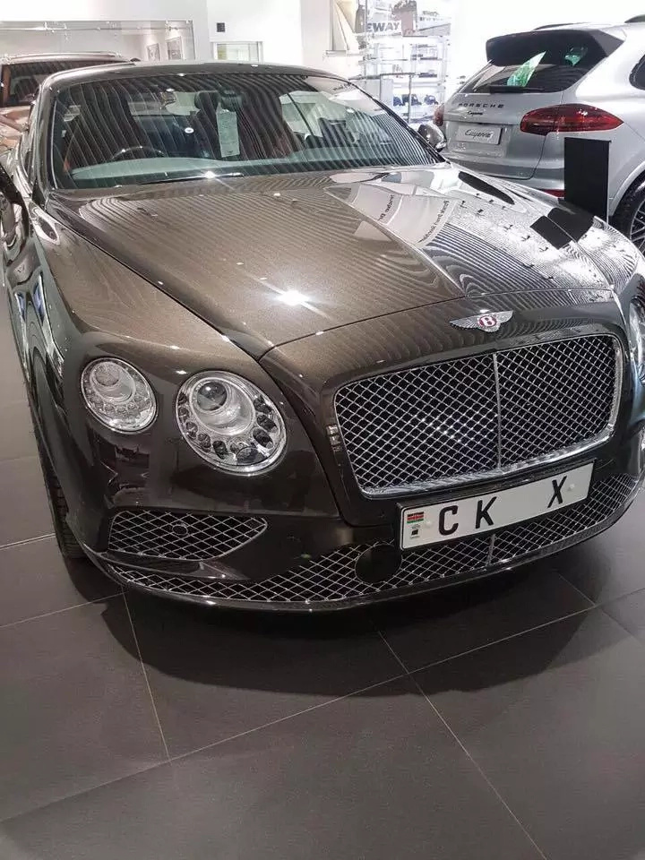 The economy is bad but Chris Kirubi just bought a KSh 30 milion 2017 Bentley