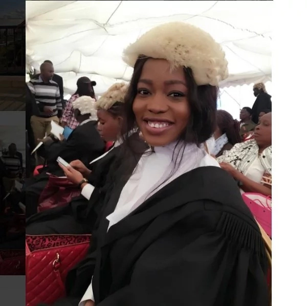 Corazon Kwamboka exposes acres of flesh days after being admitted to the bar