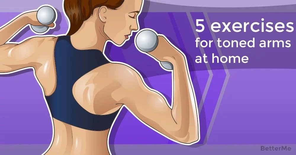 5 exercises for toned arms at home