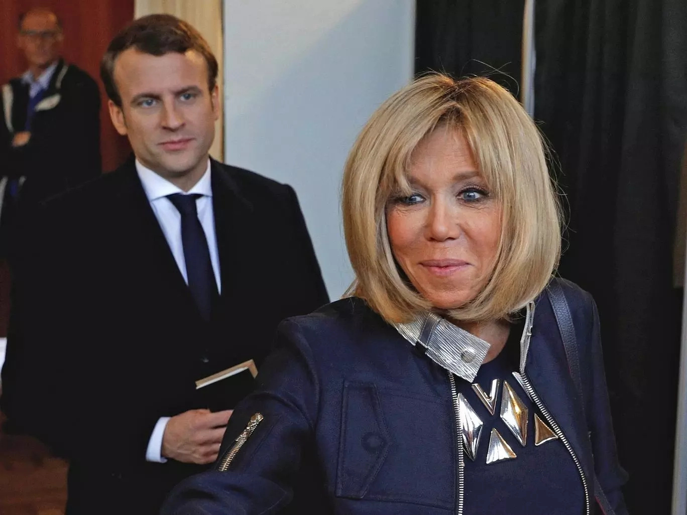 The next First Couple of France