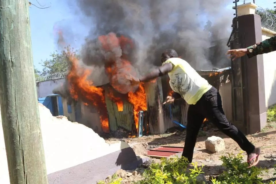 Kisumu residents destroy properties worth millions in another protest
