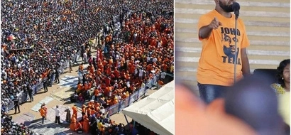 Raila praises Joho, makes this promise to the governor in front of thousands (photos)