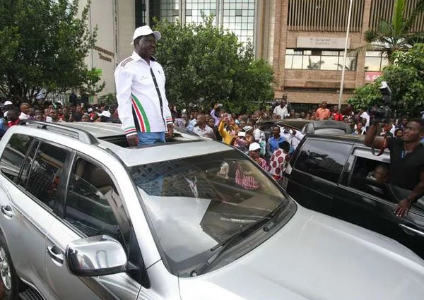 The only way Uhuru can beat me is through rigging- Raila Odinga