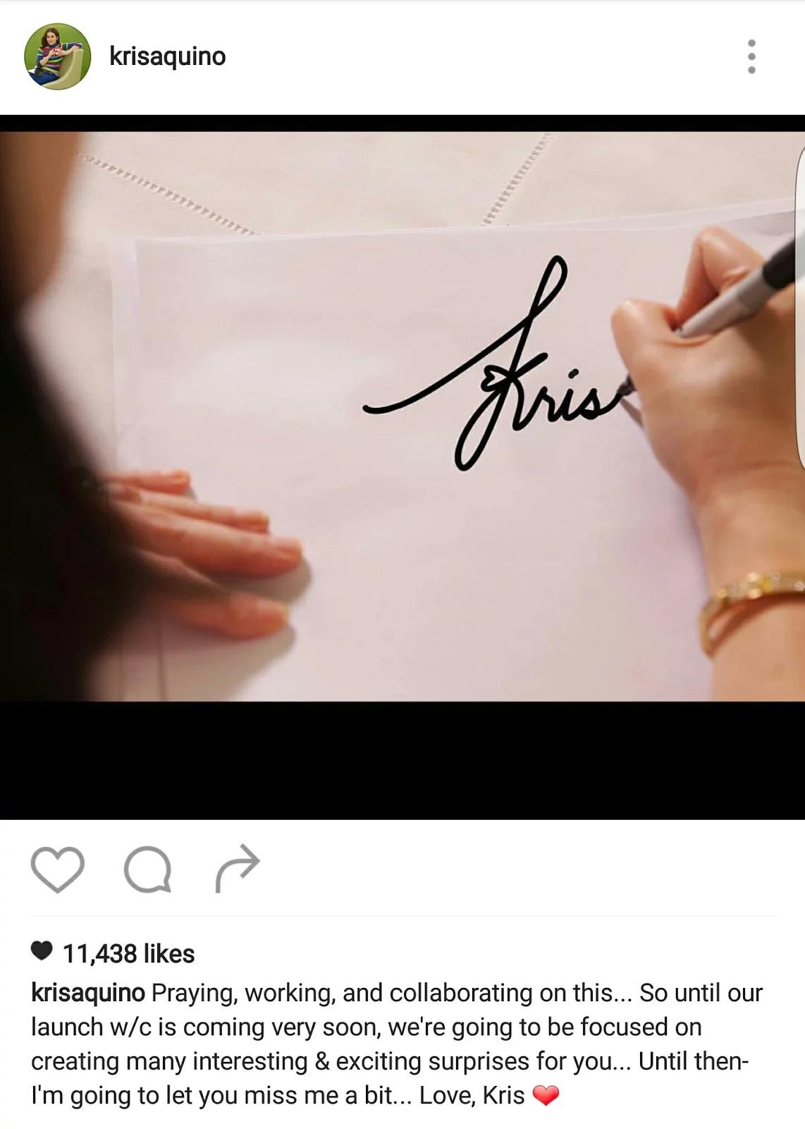 Kris Aquino TV comeback delayed; Host to focus on planned web series