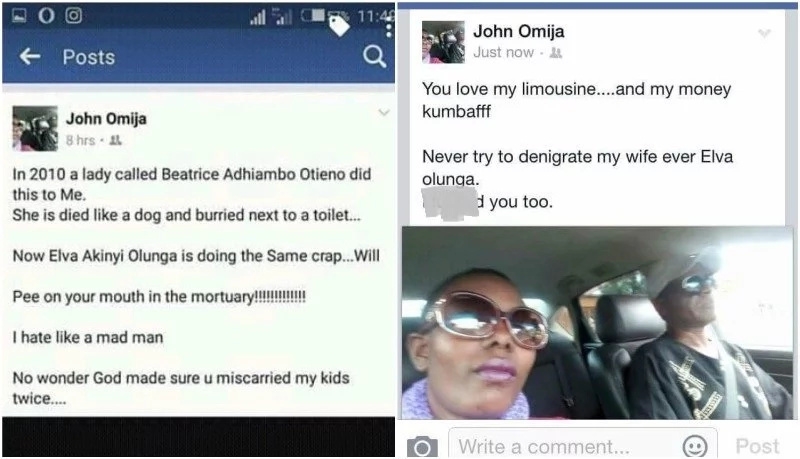 Sponsor threatens lover, posts COFFIN on Facebook and she DIES afterwards