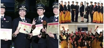 Women empowerment! Air India completes first ever round-the-world flight by ALL-FEMALE crew (photos)