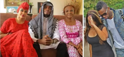 Diamond Platnumz sends an emotionless message to his late mother-in-law