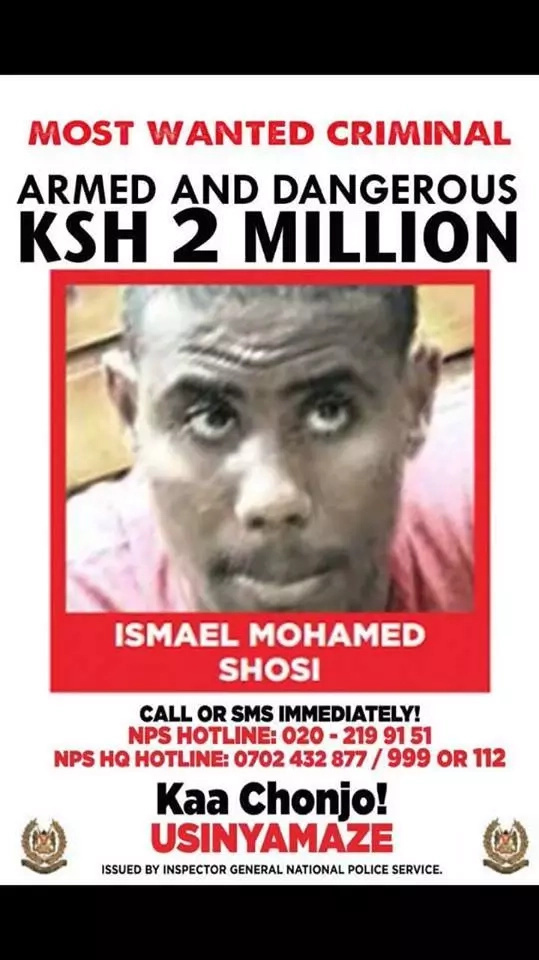 Police shoot dead terrosist at his hideout in Kisauni, Mombasa
