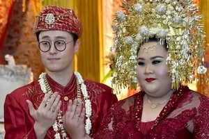 Haters Belittled and Discouraged her but this Indonesian Girl Marries Korean Man of Her Dreams