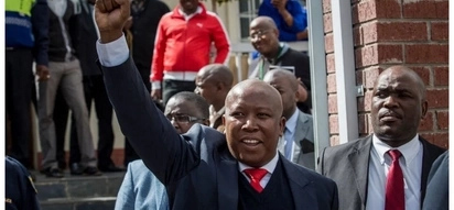 Malema tells supporters outside courtroom: South Africa would be boring without whites