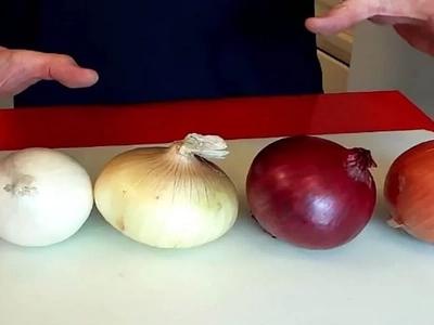 La mayoría de las mamás no saben qué se supone que hagamos con cada tipo de cebolla. ¿Y tú?