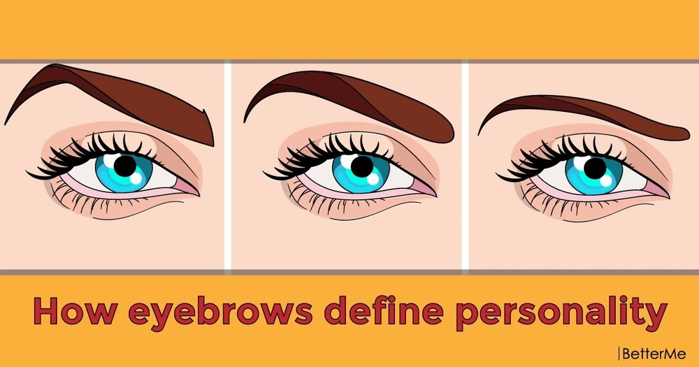 How eyebrows define personality