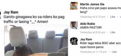 Filipina exposes Uber driver who allegedly takes advantage of drunk girls in his car