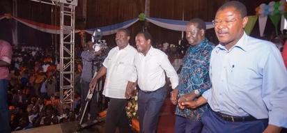 Mudavadi, Wetang'ula waonywa dhidi ya kumfuata Raila Odinga 'kikondoo'