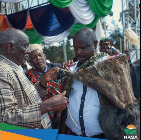 Kuidhinishwa kwa kiongozi wa NASA kuwa msemaji wa jamii fulani kwazua utata Rift Valley