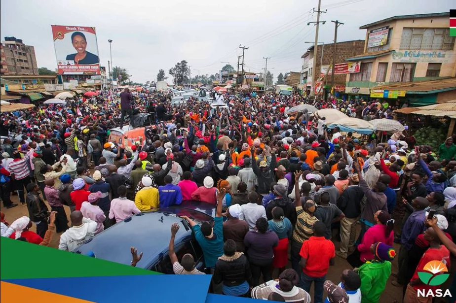 Raila speaks after being forced to flee for his life in Thika, Githurai