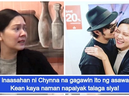 Naiyak talaga siya! Chynna Ortaleza gets the best heartwarming surprise from husband Kean Cipriano