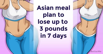 Asian meal plan can help lose up to 3 pounds in 7 days