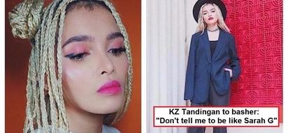 Wala kasing basagan ng trip! KZ Tandingan fires back against netizen who bashed her fashion style