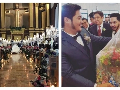 First kiss bilang mag-asawa! Highlights video from Ai-Ai delas Alas and Gerald Sibayan's wedding goes viral
