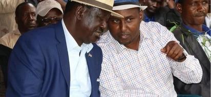 Raila's right hand man tries to explain how NASA beat Uhuru but Kenyans react angrily