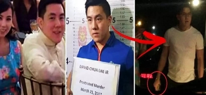 Breaking: Mercedes Benz driver who shot a nurse twice during road rage incident in Cebu has finally surrendered! Check out his photos!